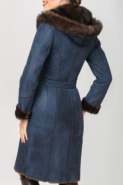 Дубленка Mondial                                                                                                              синий цвет