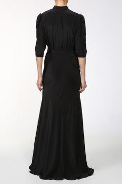 Платье С Поясом Pas Pour Toi                                                                                                              чёрный цвет