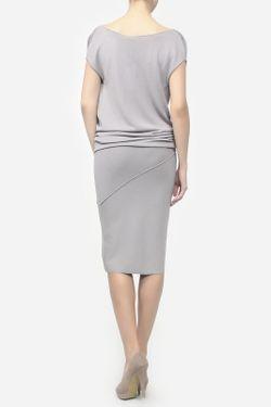 Платье Donna Karan                                                                                                              серый цвет