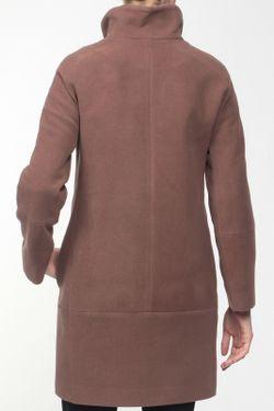 Пальто КОРУ-СТИЛЬ                                                                                                              коричневый цвет