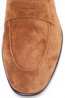 Туфли Giorgio Armani                                                                                                              коричневый цвет