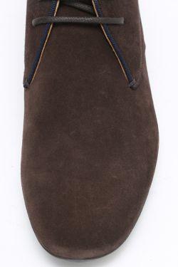 Ботинки Giorgio Armani                                                                                                              коричневый цвет