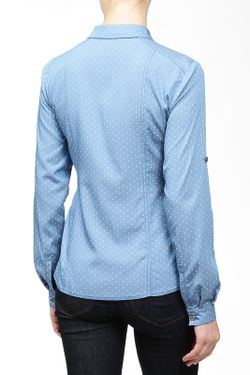 Блузка E.LEVY                                                                                                              голубой цвет