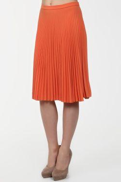 Юбка Max Mara Studio                                                                                                              оранжевый цвет
