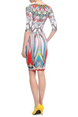 Платье Blumarine                                                                                                              многоцветный цвет
