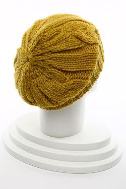 Шапка Carlo Visintini                                                                                                              желтый цвет