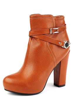 Ботинки Vita Ricca                                                                                                              оранжевый цвет