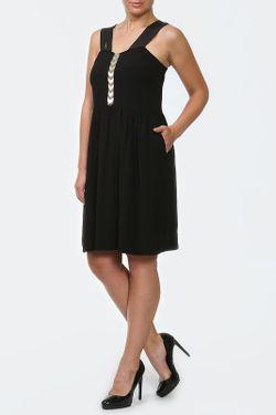 Платье Sandro                                                                                                              черный цвет
