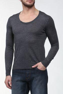 Пуловер Вязаный Mauro Grifoni                                                                                                              серый цвет