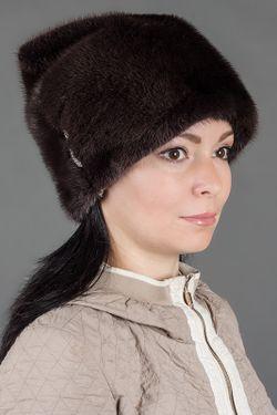 Шапка Кошечка Семь Зим                                                                                                              коричневый цвет