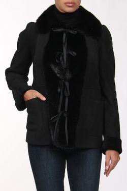 Дубленка Gianfranco Ferre                                                                                                              черный цвет