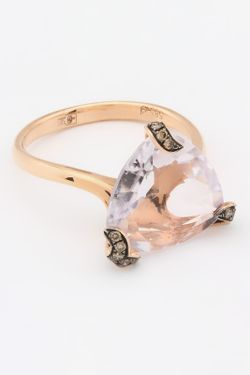 Кольцо Magic Diamonds                                                                                                              розовый цвет
