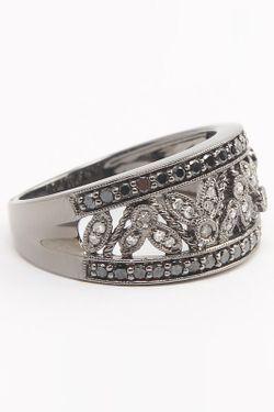 Кольцо Magic Diamonds                                                                                                              чёрный цвет