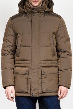 Пуховик Tom Farr                                                                                                              коричневый цвет