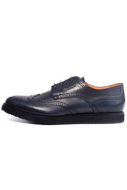 Ботинки Santoni                                                                                                              синий цвет