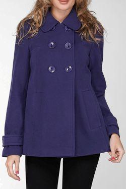 Пальто Stella Di Mare                                                                                                              синий цвет