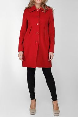 Пальто Stella Di Mare                                                                                                              красный цвет