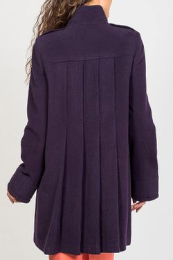 Пальто Stella Di Mare                                                                                                              фиолетовый цвет