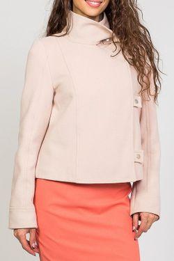 Пальто Stella Di Mare                                                                                                              бежевый цвет