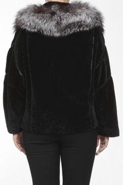 Шуба NAMIA                                                                                                              черный цвет