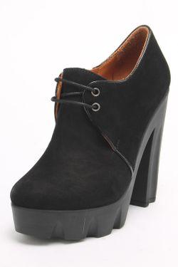 Ботинки SM SHOESMARKET                                                                                                              чёрный цвет