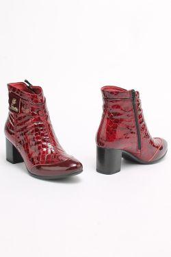 Ботинки SM SHOESMARKET                                                                                                              красный цвет
