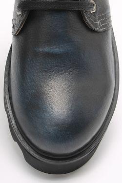 Полуботинки SM SHOESMARKET                                                                                                              синий цвет