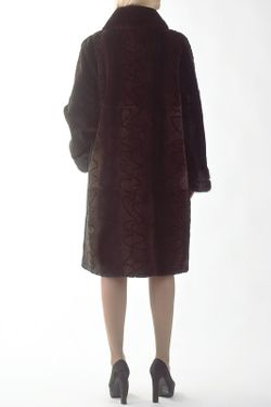 Шуба Меховая фабрика Bagiroff                                                                                                              коричневый цвет