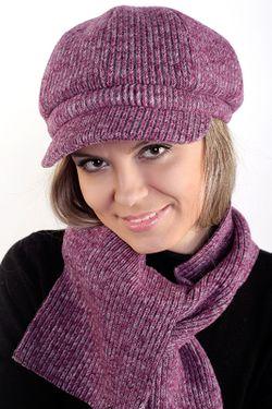 Кепка Loricci                                                                                                              фиолетовый цвет