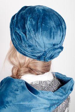 Бандана С Шарфом Loricci                                                                                                              голубой цвет