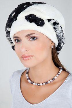 Берет Loricci                                                                                                              белый цвет