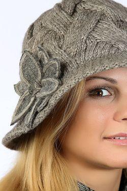 Шляпка Loricci                                                                                                              коричневый цвет