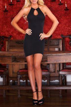 Платье Hustler Lingerie                                                                                                              черный цвет