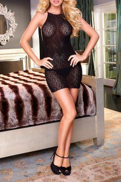Платье-Мини Hustler Lingerie                                                                                                              черный цвет