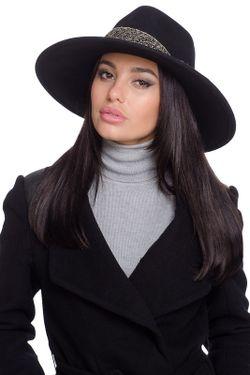 Шляпа Moltini                                                                                                              чёрный цвет