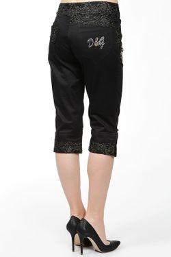 Бриджи D&G                                                                                                              черный цвет