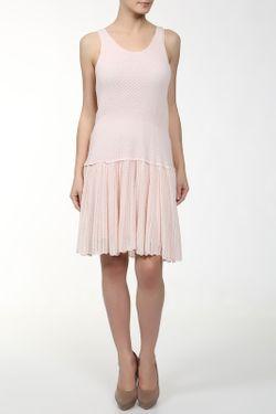 Платье Вязаное Band Of Outsiders                                                                                                              розовый цвет