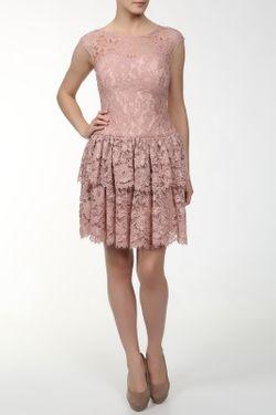 Платье Marchesa Notte                                                                                                              розовый цвет
