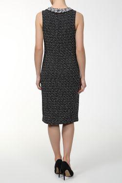 Платье Вязаное St. John                                                                                                              черный цвет