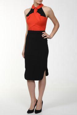 Платье Roland Mouret                                                                                                              оранжевый цвет
