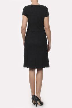 Платье Вязаное St. John                                                                                                              чёрный цвет