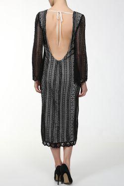Платье MSGM                                                                                                              черный цвет