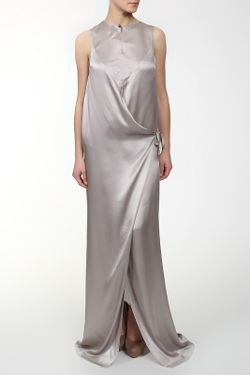 Платье Ann Demeulemeester                                                                                                              серый цвет