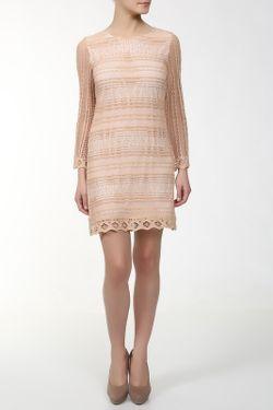 Платье MSGM                                                                                                              многоцветный цвет