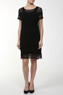 Платье Джерси 2 Предм. Ottod'Ame                                                                                                              чёрный цвет