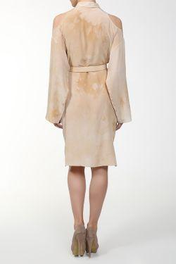 Платье С Поясом Versace                                                                                                              многоцветный цвет