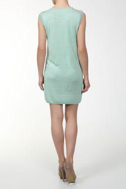 Платье Вязаное Unee+O                                                                                                              зелёный цвет