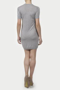 Платье Вязаное Unee+O                                                                                                              серый цвет