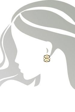 Серьги Magic Diamonds                                                                                                              желтый цвет