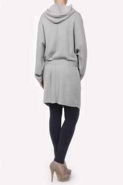 Кардиган Вязаный С Поясом Maison Ullens                                                                                                              серый цвет
